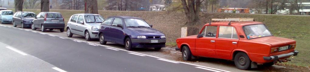auto in sosta