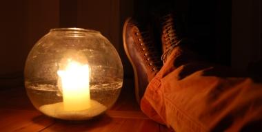 scarpe camper a lume di candela
