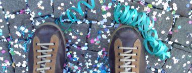 scarpe camper a carnevale