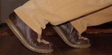 scarpe camper ai blocchi di partenza