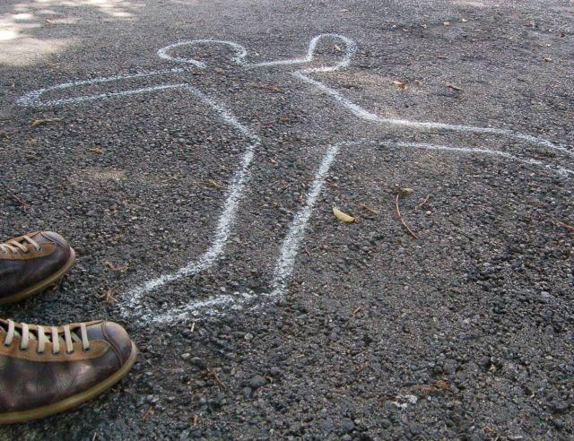 scarpe camper sul luogo del delitto