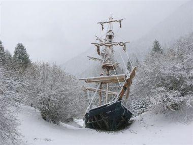 la nave di Lezione 21 in Primiero