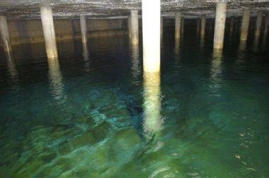 il serbatoio dell'acquedotto