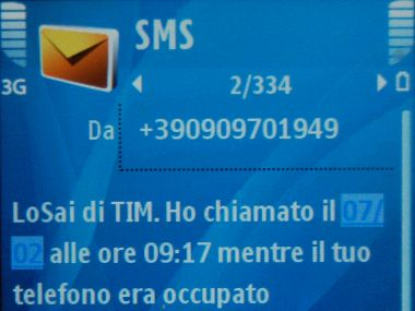 sms mortale