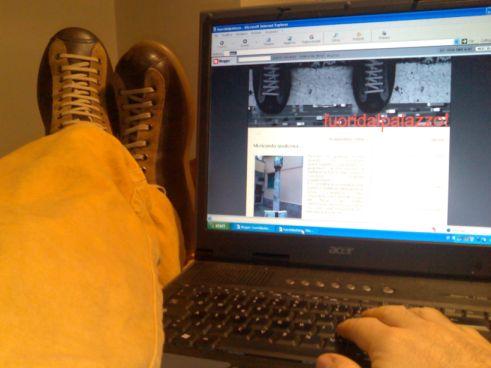 primo post con le scarpe camper nuove di zecca