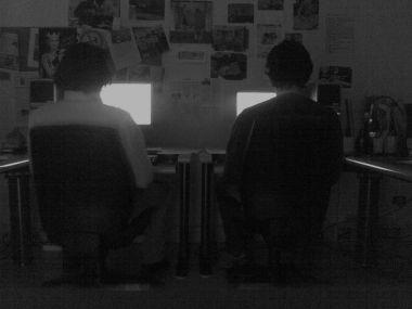 giornalisti al buio