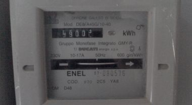 contatore dell'energia elettrica