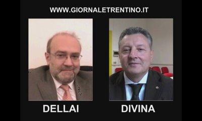 intervista doppia Lorenzo Dellai Sergio Divina