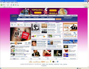libero home page